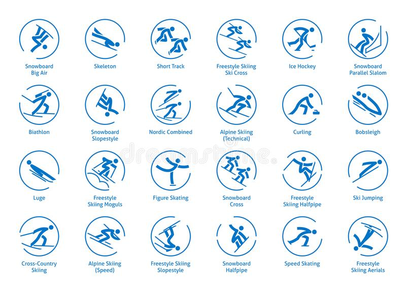 Winter Olympic Sports Icons Stock Illustrations 183 Winter Olympic Sports Icons Stock Illustrations Vectors Clipart Dreamstime