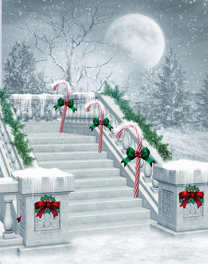 Free Winter Stairs Stock Photo - 16755940