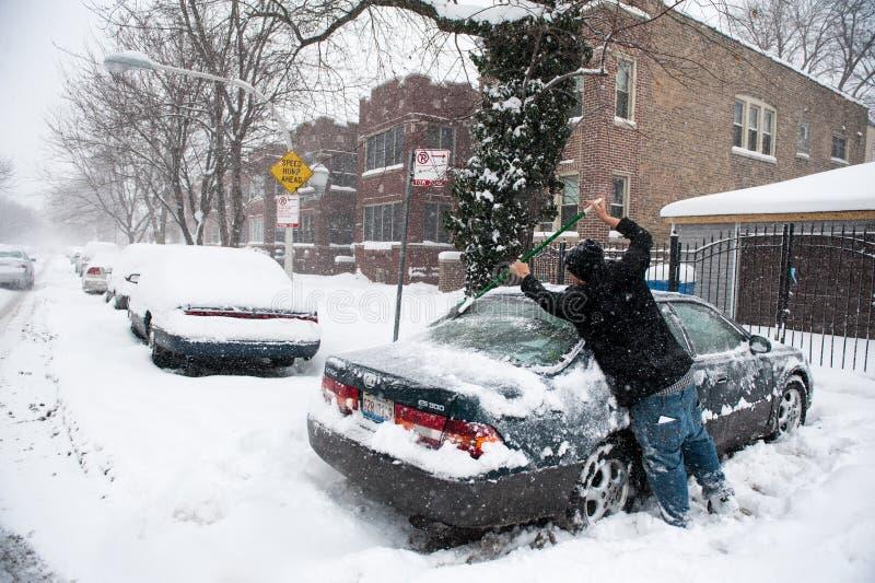 Winter Storm Hercules Editorial Photography