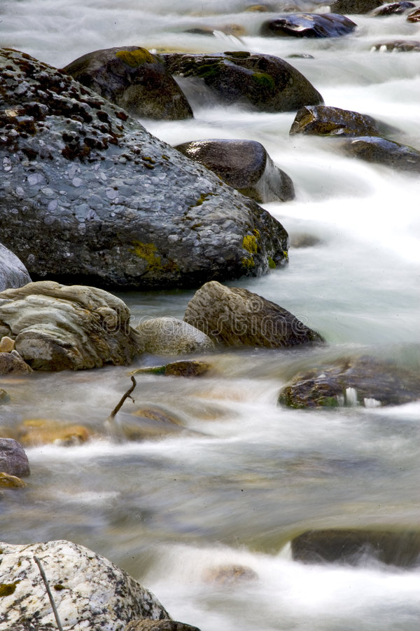 Download Winter Stream stock image. Image of creek, water, spring - 118199