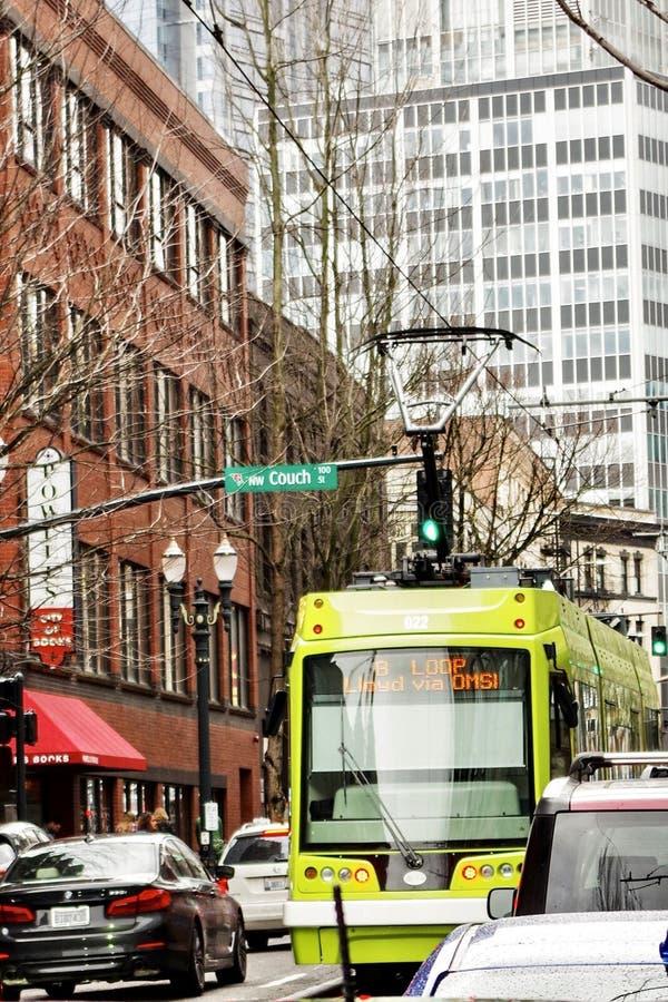 Street Scenes, Portland, Oregon, USA royalty free stock images