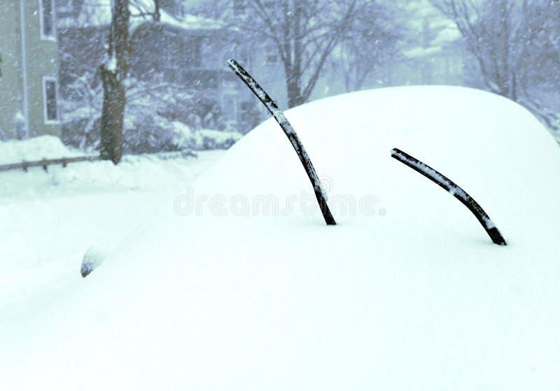 Winter-Sturm stockfotografie