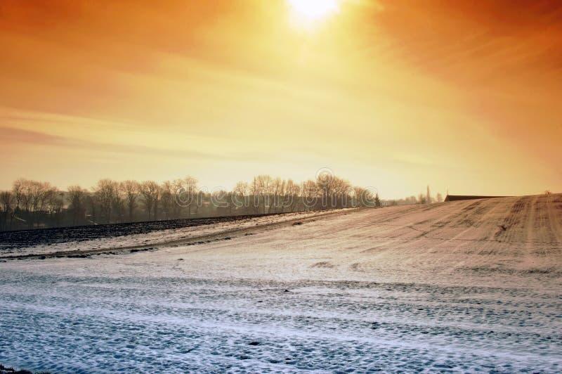 Download Winter Sun Stock Photo - Image: 12844890