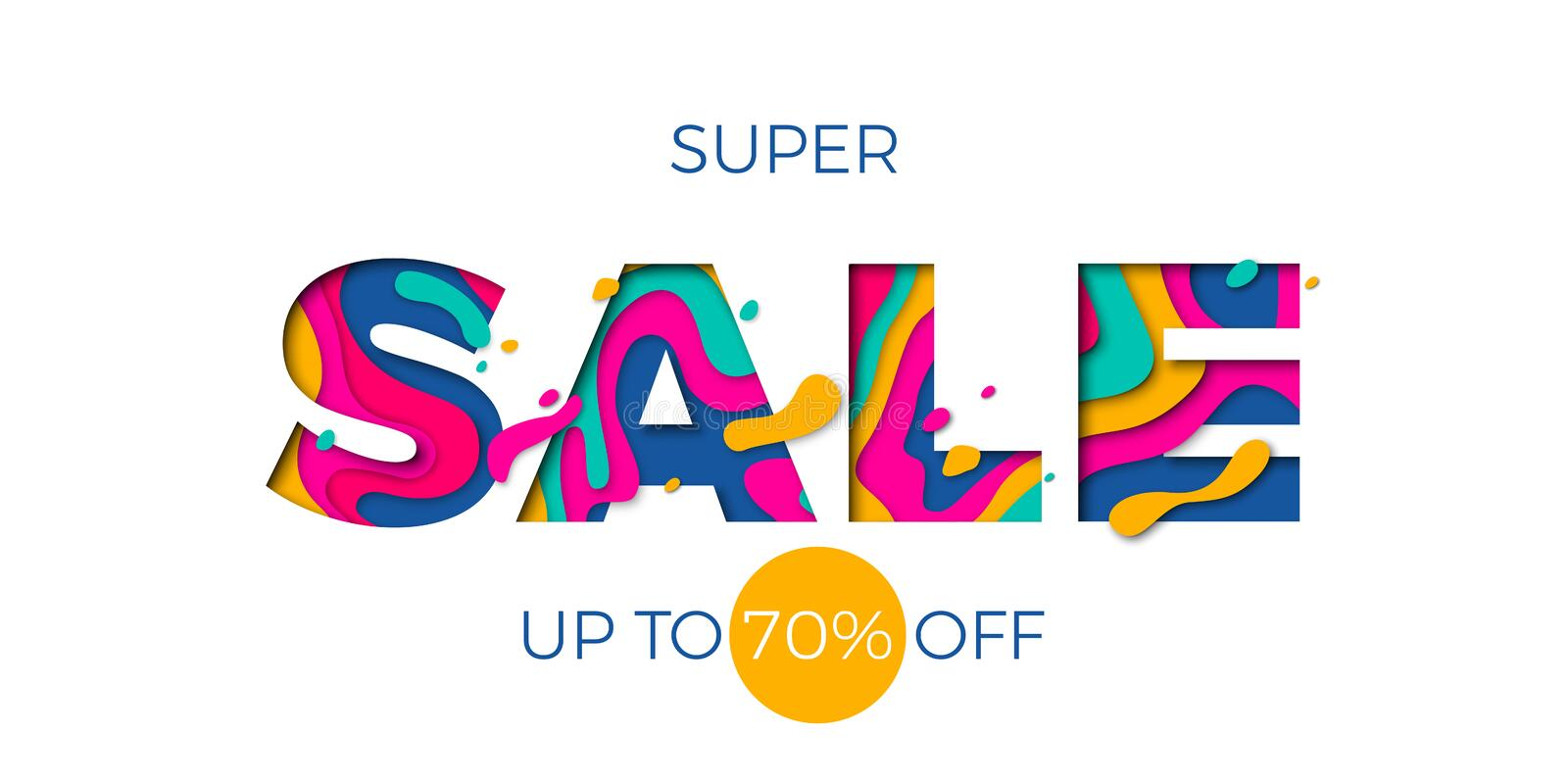 Winter sale banner seasonal holiday shopping discount promo vector offer stock illustration