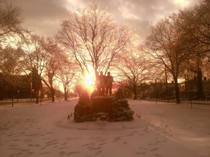 Winter-Tag lizenzfreies stockfoto