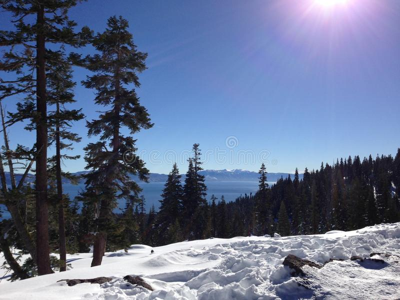 Winter in Tahoe royalty free stock image