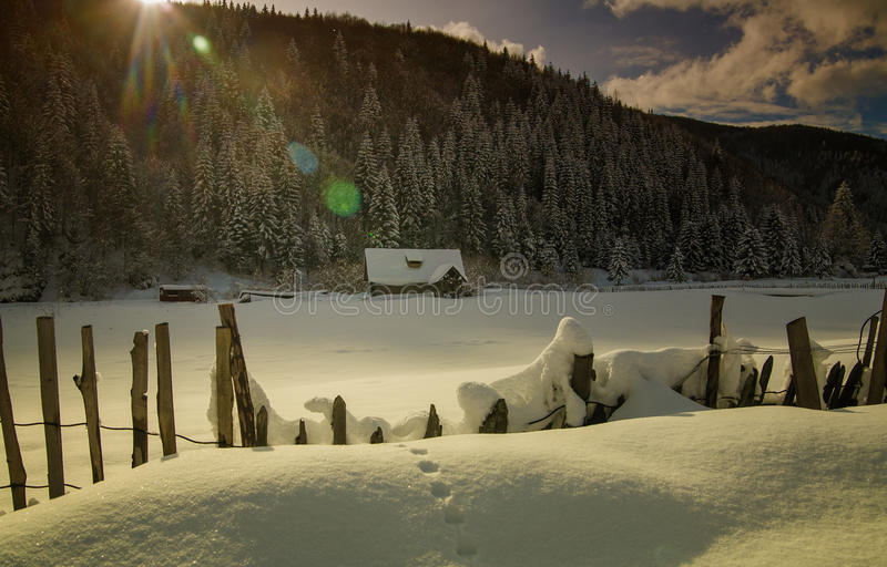Winter tale royalty free stock photos