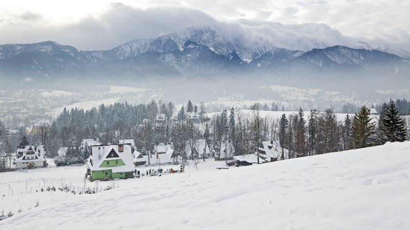 Winter In Tatra Mountains Stock Photos