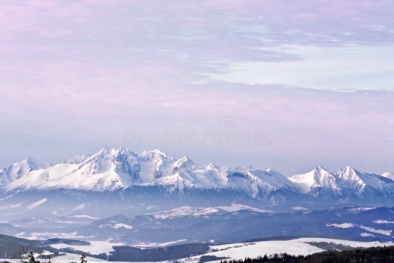 Winter Tatras. royalty free stock photography