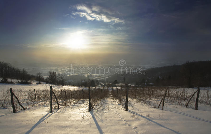 Download Winter Time stock image. Image of wires, snowy, seasonal - 13546757