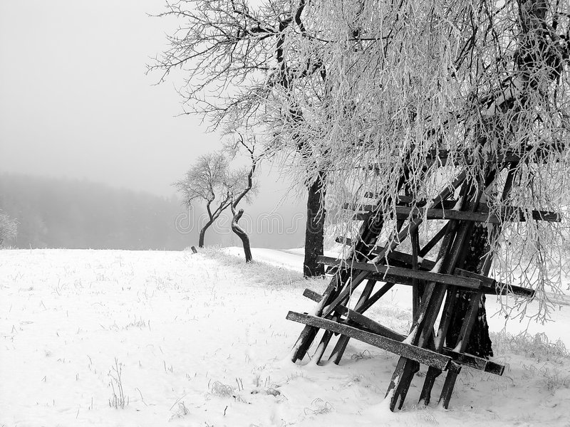 Winter time stock images