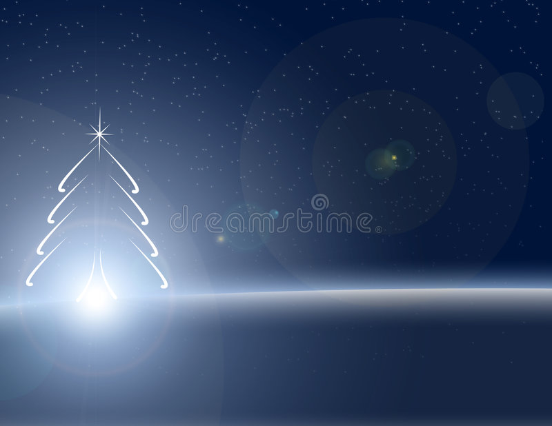 Winter time holiday background royalty free illustration