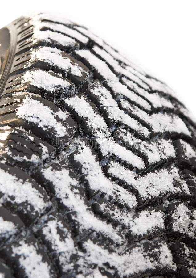 Free Winter Tires In Snow Royalty Free Stock Images - 22743239