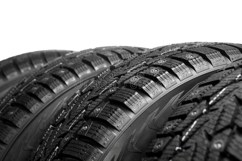 Download Winter tires part stock image. Image of automotive, spare - 28226351