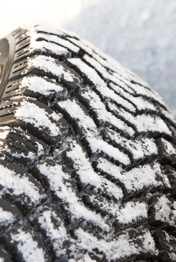 Download Winter tires in snow stock image. Image of shot, tire - 23073897