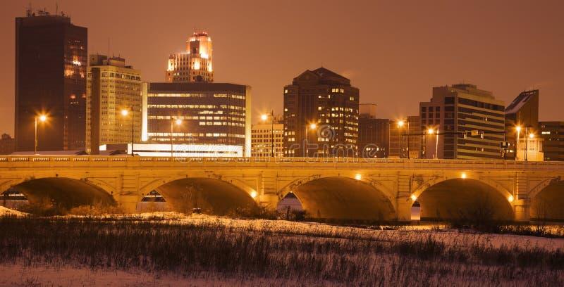 Winter in Toledo royalty free stock photos