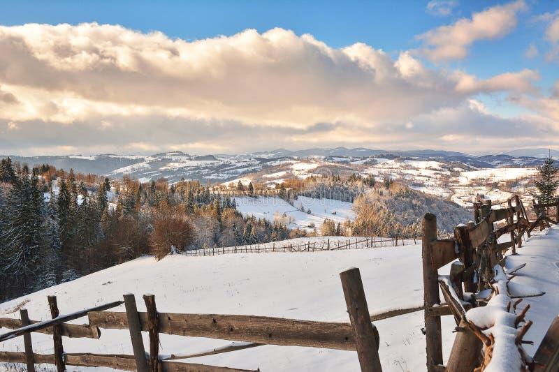 Download Winter In Transylvania Romania Stock Photo - Image: 83702452