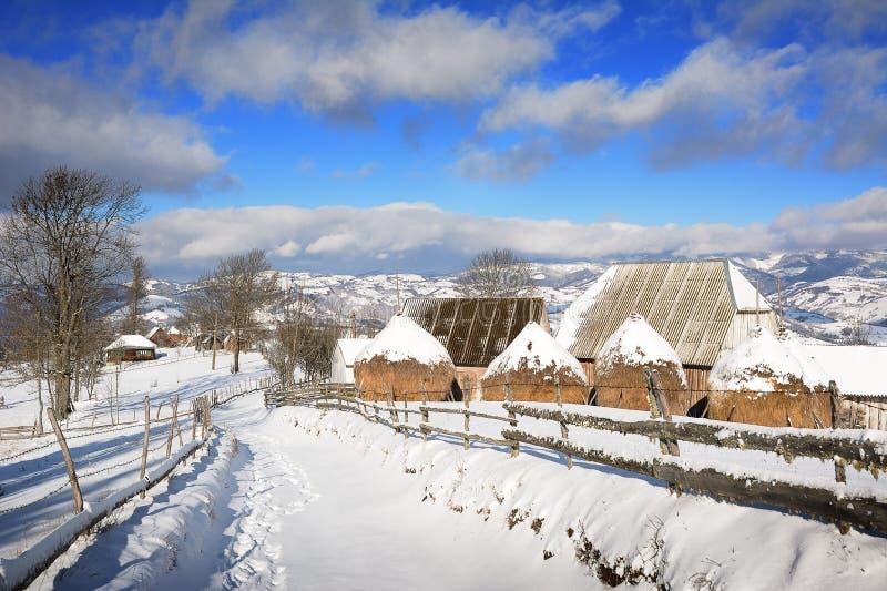 Download Winter In Transylvania Romania Stock Photo - Image: 83702974