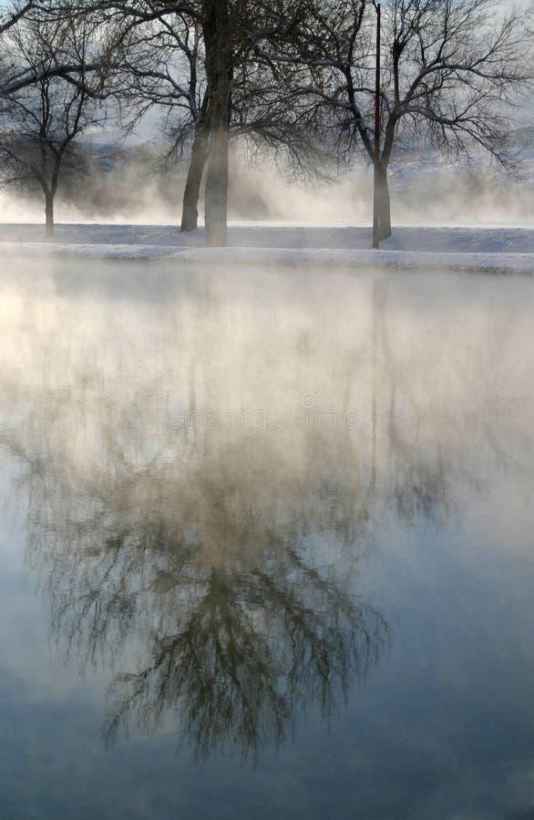 Winter-Traumserie 2 stockfotografie