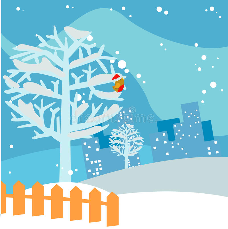 Download Winter Tree Background Royalty Free Stock Photo - Image: 12087805