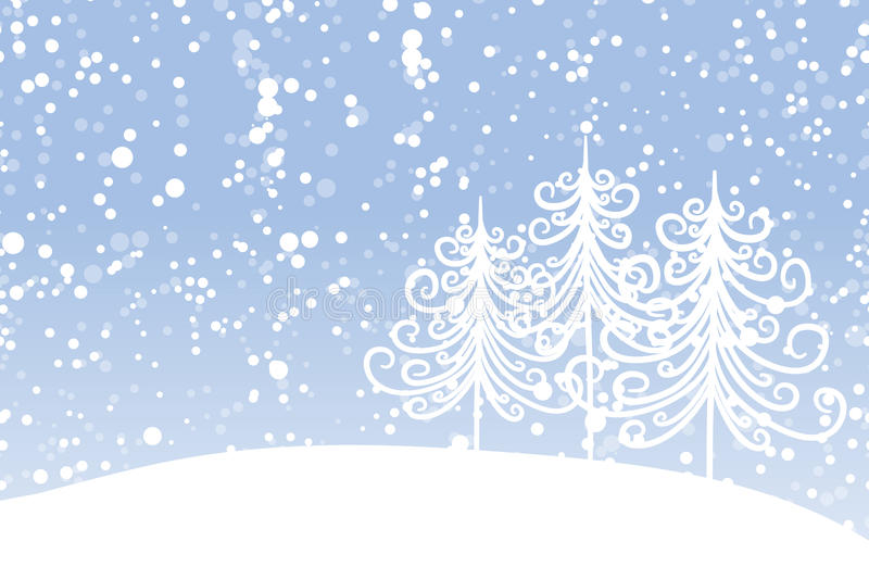 Download Winter Tree For Your Design. Christmas Holiday. Stock Vector - Image: 30353595