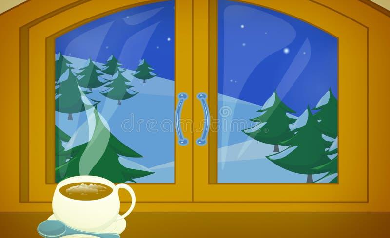 Download Winter vacation stock illustration. Image of illustration - 17655011