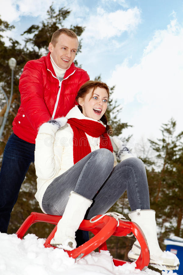 Download Winter Vacation Royalty Free Stock Images - Image: 25444029