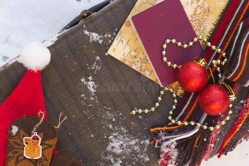 Stock Photo Winter Vacation Travel Tips Background Image64107452