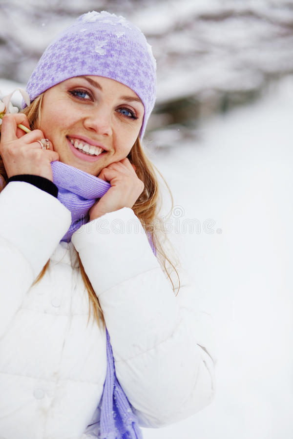Winter Vacations Stock Photo
