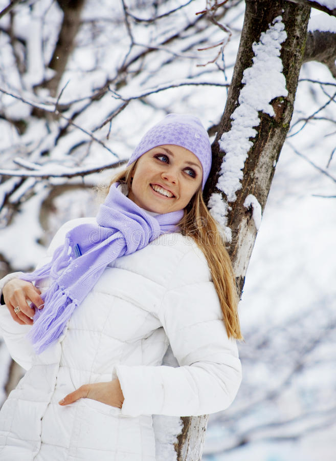Download Winter vacations stock image. Image of female, active - 12894285