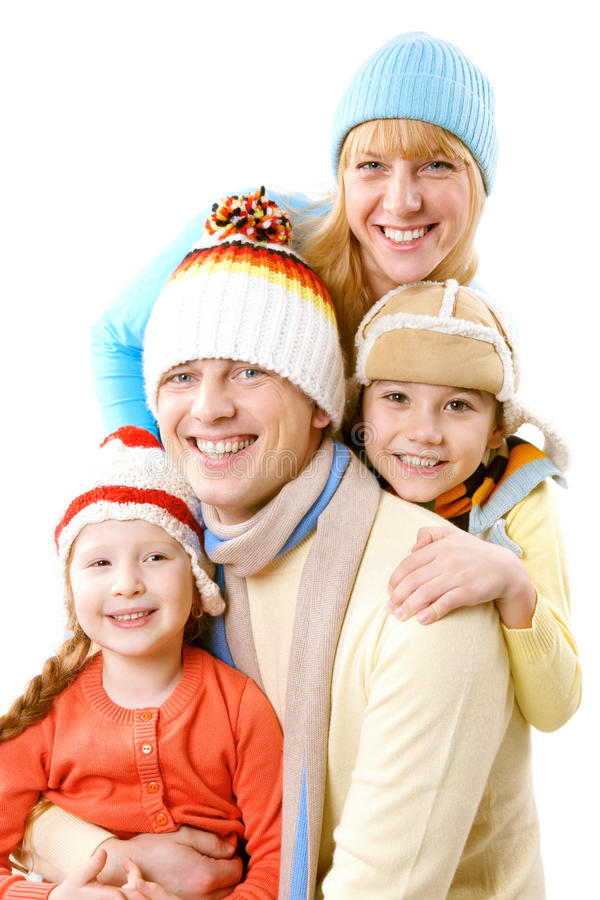 On winter vacations stock image