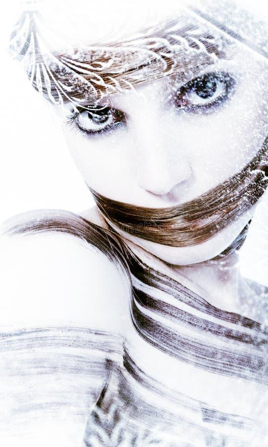 Winter van Hairtalk revisted royalty-vrije stock fotografie