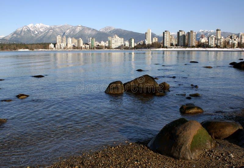 Download Winter in Vancouver stock photo. Image of ocean, beach - 7592306