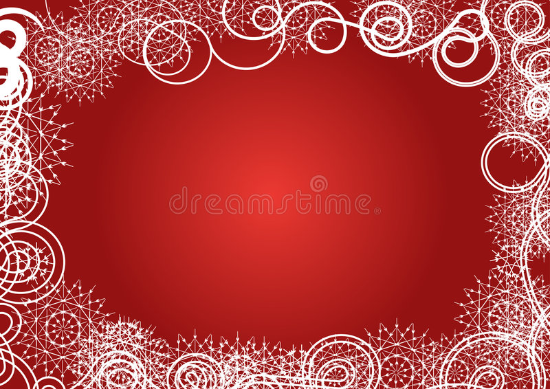 Winter vector background desig royalty free stock photography