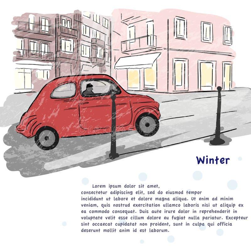 Winter royalty free illustration