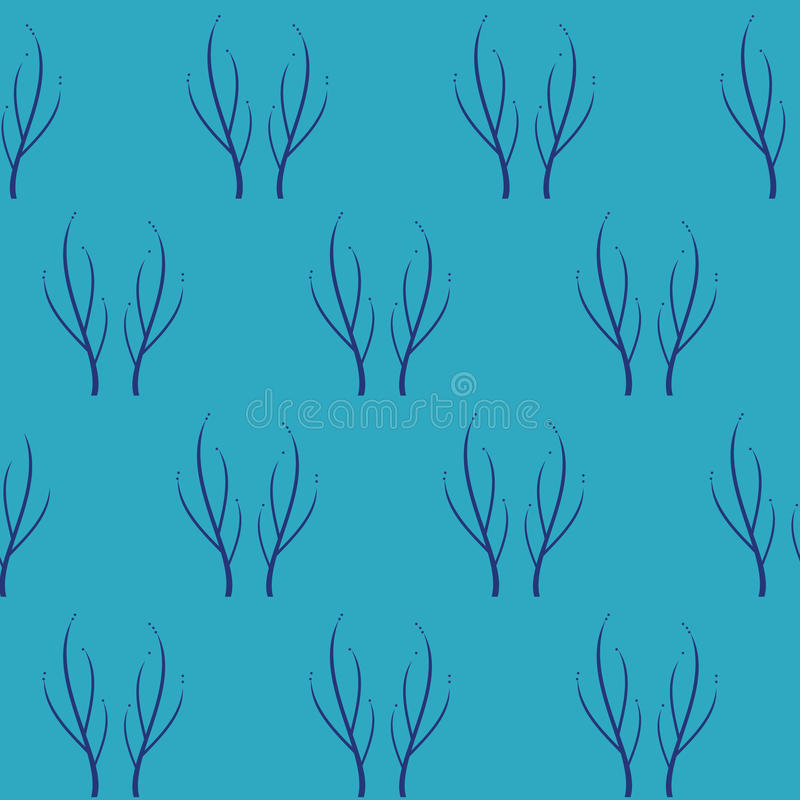 Winter vector seamless pattern. For decoration, paper, fabric, packing etc royalty free illustration