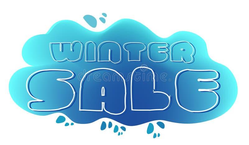 Winter-Verkauf vektor abbildung