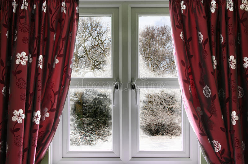 Download Winter View From A Window Stock Photos - Image: 16993173