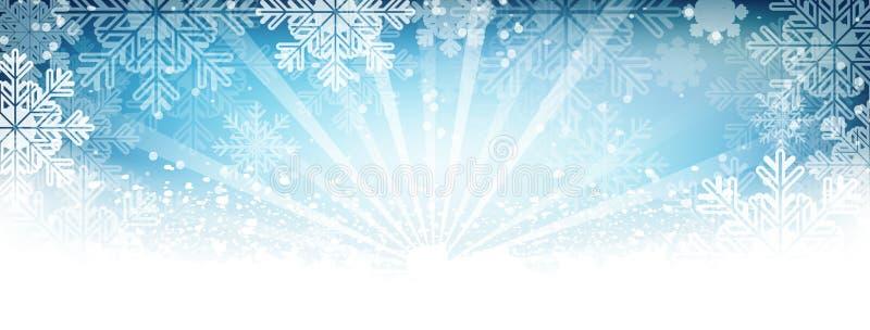 Winter wallpaper. Snow, snowfall, snowflakes and shiny effect. royalty free stock photos