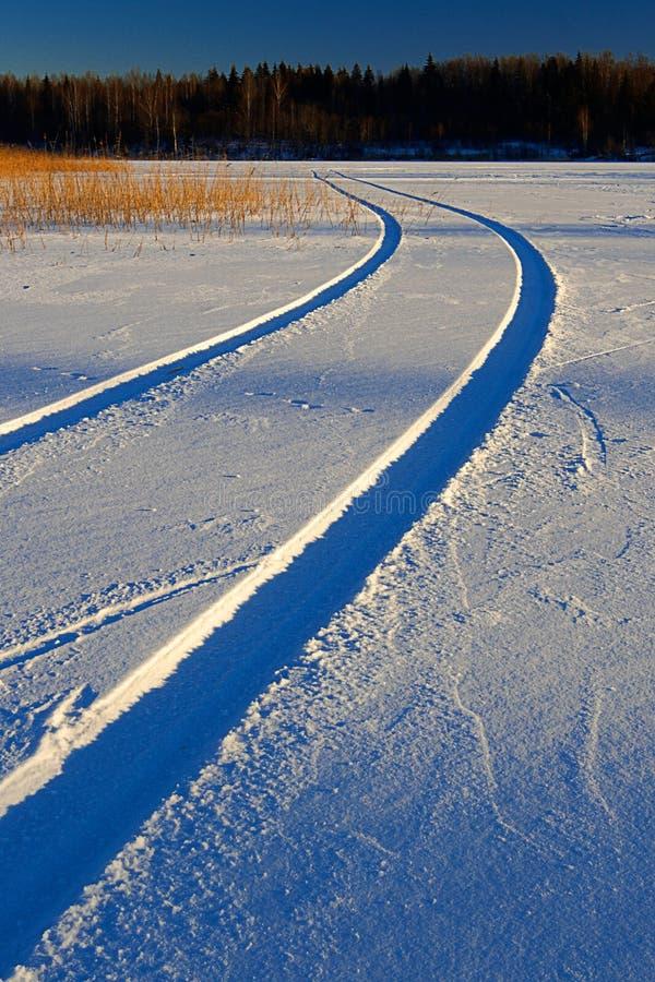 Free Winter Way Stock Image - 7507161