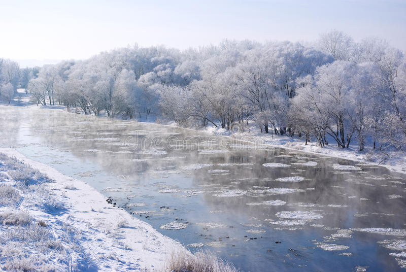 Download Winter weather stock image. Image of white, water, frost - 17980163