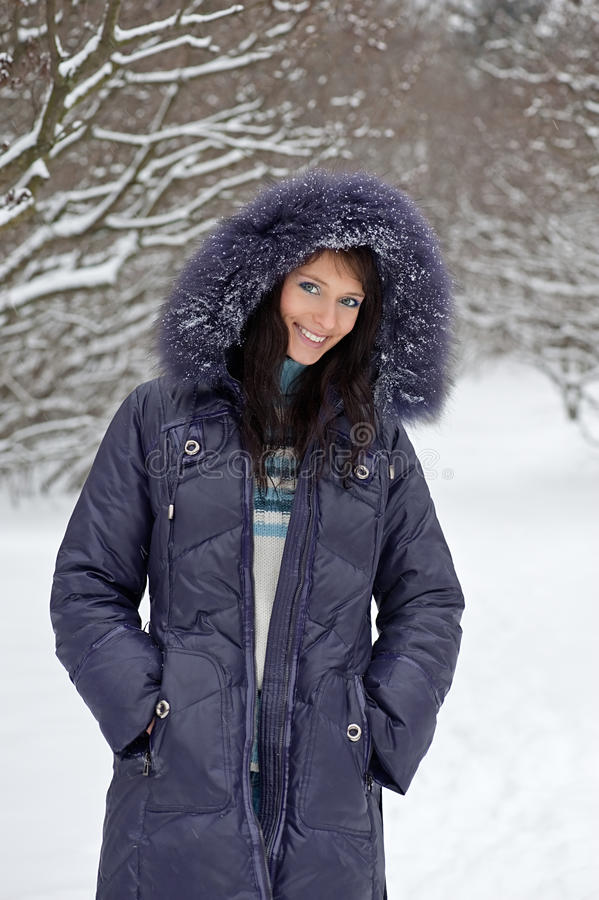 Download Winter woman portrait stock image. Image of girl, leisure - 16827139
