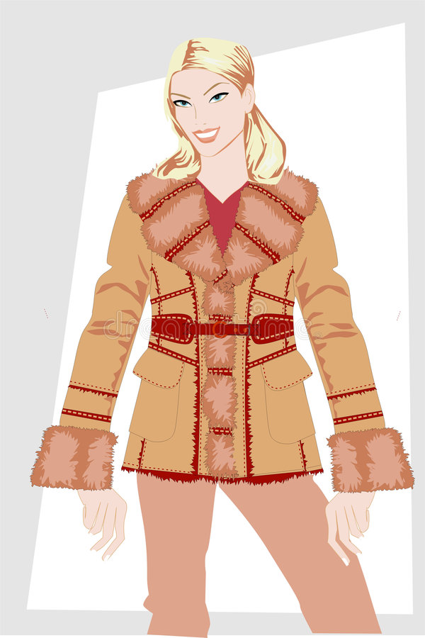 Free Winter Women S Clothes. Stock Photography - 4904502