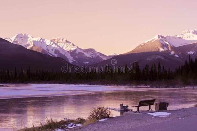 Winter Wonderland in the Rockies royalty free stock photos