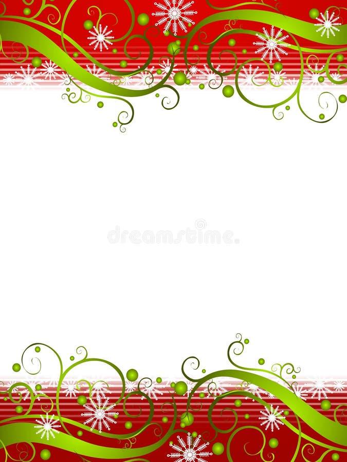 Winter Wonderland Snowflake Background 2 royalty free illustration
