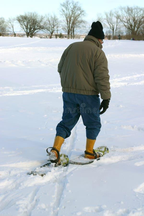 Winteraktivitäten stockfotos