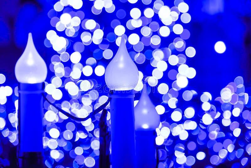 Winterbeleuchtung des Weihnachtslichtes in Tokyo, Japan lizenzfreie stockbilder