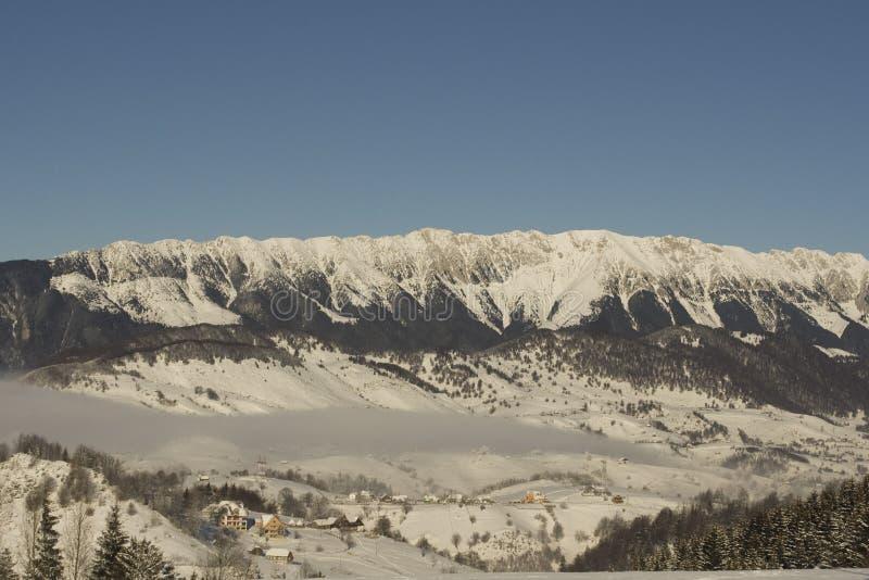 Winterberglandschaft stockfoto