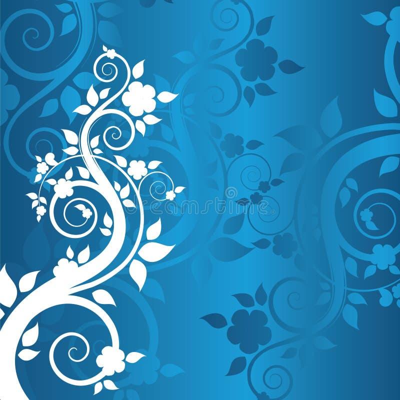 Winterblumenhintergrund vektor abbildung