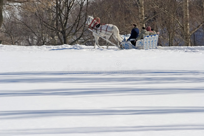 Winterfeiertag stockfotos